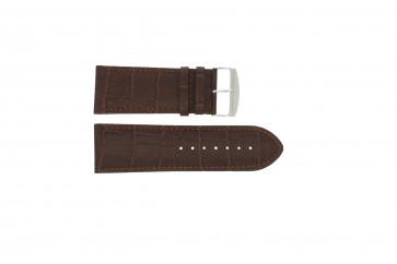 Klockarmband i skinn Buffekalv brun rem 36mm 305