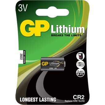 GP Andra Batteri CR2 / 1CR2 / OLCR Camera - 3v