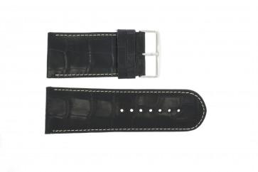 Klockarmband Universell 61324-36B Läder Blå 36mm