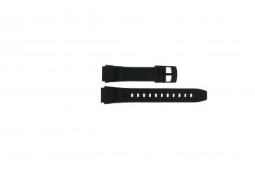 Klockarmband Casio 71607653 Gummi Svart 16mm
