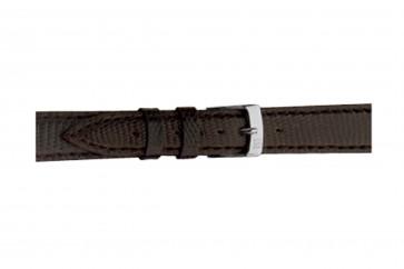 Morellato klockarmband Violino Gen.Lizard X2053372030CR10 / PMX030VIOLIN10 Ödla läder Mörk brun 10mm + default sömmar