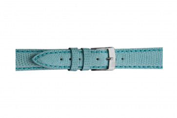Morellato klockarmband Violino Gen.Lizard X2053372268CR10 Ödla läder Ljusblå 10mm + default sömmar