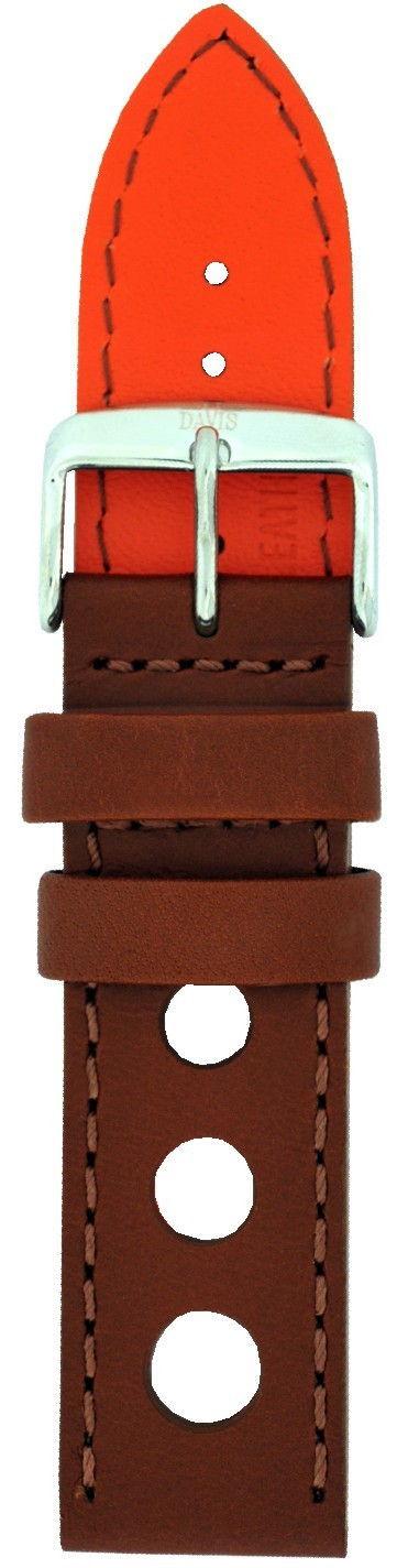 Davis Klockarmband med stansade hål 22mm B0322