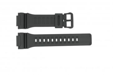 Casio klockarmband W736H / W735H / 10410723 Gummi / plast Svart 18mm