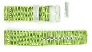 Diesel klockarmband DZ2051 Textil Grön 21mm + sömmar grön