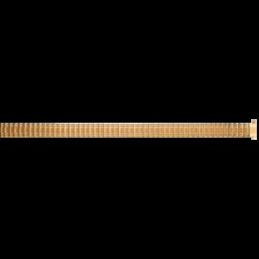 Klockarmband Universell EB607 Stål Guldpläterad 8mm
