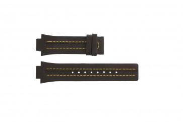 Festina klockarmband F16224-7 Läder Brun 14mm + sömmar gul