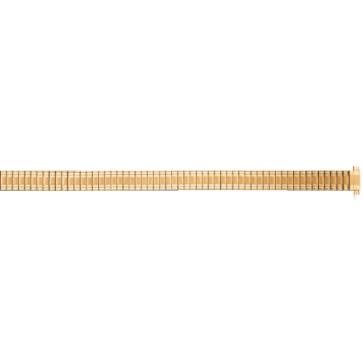 Klockarmband Universell FEB603 Stål Guldpläterad 8mm