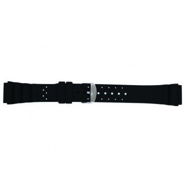 Klockarmband Universell SL100 Silikon Svart 18mm