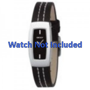 Klockarmband DKNY NY3296 Läder Svart 15mm
