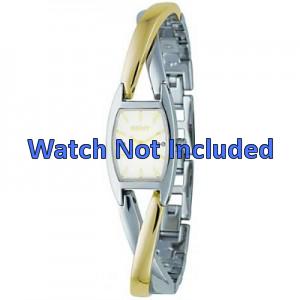 Klockarmband DKNY NY4634 Case / Strap Stål Bi-färg 13mm