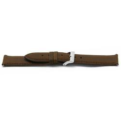 Klockarmband Läder brunt 22mm EX-H342