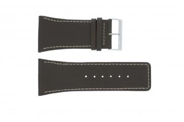 Klockarmband Universell P310 Läder Brun 38mm