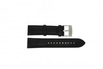 Fossil klockarmband ME-3104 Läder Svart 22mm