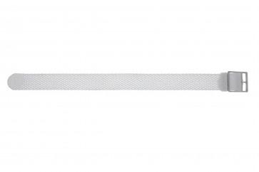 Klockarmband Universell PRLN.18.W Nylon/perlon Vit 18mm