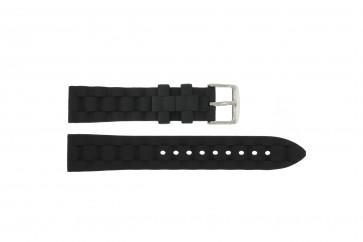 Rubber band 18mm zwart PVK-PU106