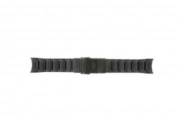 Seiko klockarmband V157-0AS0 Metall Svart 22mm