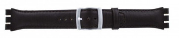 Klockarmband Swatch (alt.) 51643.03 Läder Brun 19mm