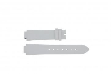 Breil klockarmband F660013402-TW0610 Läder Vitt 17mm