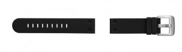 Klockarmband TW Steel TW581 Gummi Svart 24mm