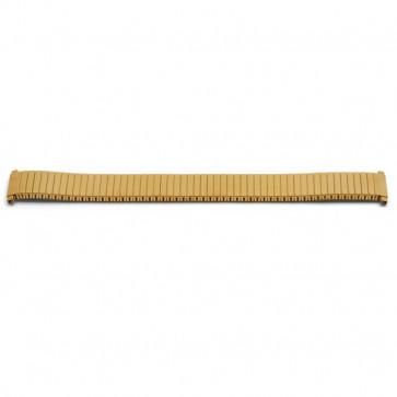 Klockarmband Universell V60E Stål Guldpläterad 16-18mm variabel