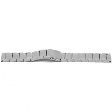 Klockarmband YI33 Metall Ilverfärgad 24mm