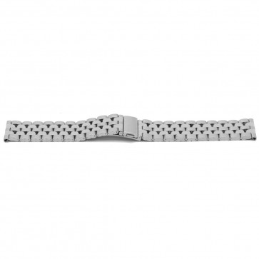 Klockarmband YJ27 Metall Ilverfärgad 26mm
