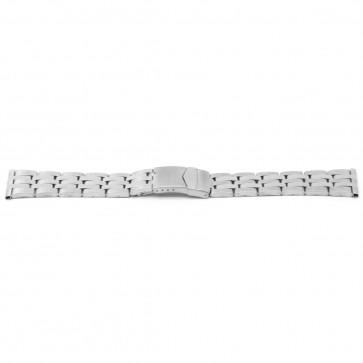 Klockarmband YJ41 Metall Ilverfärgad 26mm