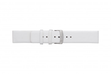 Morellato klockarmband Large X3076875017CR28 / PMX017LARGE28 Mjukt läder Vit 28mm