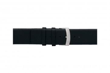 Morellato klockarmband Large X3076875019CR26 / PMX019LARGE26 Mjukt läder Svart 26mm