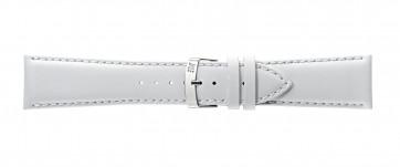 Morellato klockarmband Extra Napa X3395875017CR28 / PMX017EXTRAN28 Läder Vit 28mm + default sömmar