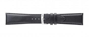 Morellato klockarmband Extra Napa X3395875019CR30 / PMX019EXTRAN30 Läder Svart 30mm + default sömmar