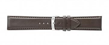 Morellato klockarmband Extra Napa X3395875032CR30 / PMX032EXTRAN30 Läder Mörk brun 30mm + default sömmar