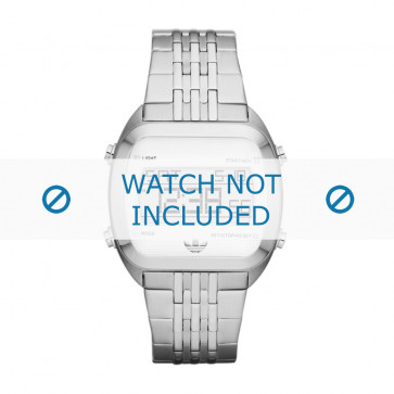 Adidas klockarmband ADH2733 Stål Silver 24mm