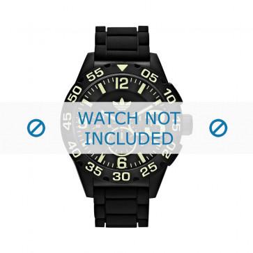 Adidas klockarmband ADH2854 Silikon Svart 22mm
