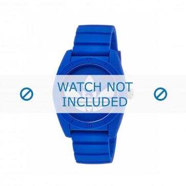 Klockarmband Adidas ADH2656 Plast Blå 22mm