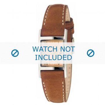 Klockarmband Armani AR0252 Läder Brun 16mm