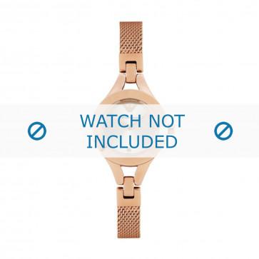 Klockarmband Armani AR7362 Rostfritt stål Rosévin 4mm