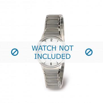 Boccia klockarmband 3158-01 Titan Silver 14mm