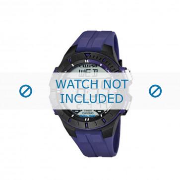 Klockarmband Calypso K5607-2 Gummi Blå 20mm