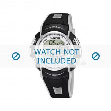 Klockarmband Calypso K5610-8 Plast Svart 22mm