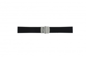 Klockarmband Camel BC51025 / A661.5326.PBPA / 5320-5329 Gummi Svart 22mm