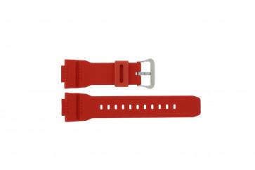 Casio klockarmband G-7900A-4 / 10332099 Gummi / plast Röd 16mm