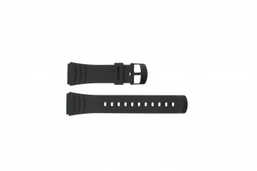 Casio klockarmband DBC-32C-1BW Gummi Svart 22mm