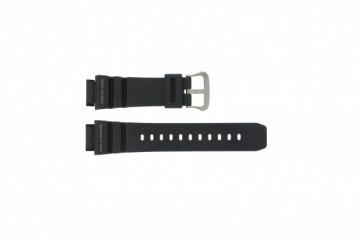 Casio klockarmband G-9100-1 Gummi Svart 21mm