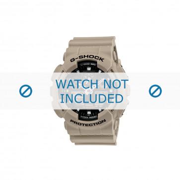 Casio klockarmband 10443549 Plast Grädde vitt 16mm