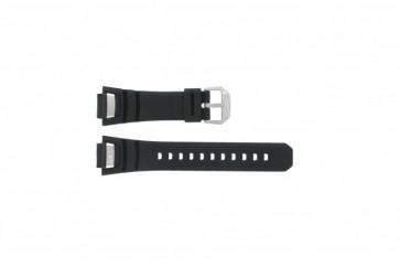 Casio klockarmband GS-1000J-1A Silikon Svart 16mm