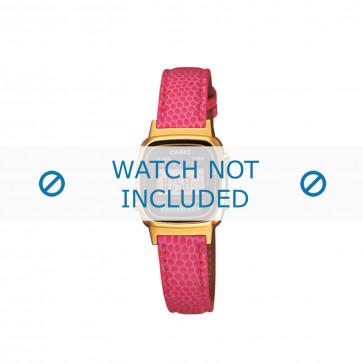 Klockarmband Casio LA670WEGL-4AEF / LA670WEGL-4 / 10487171 Läder Rosévin 13mm