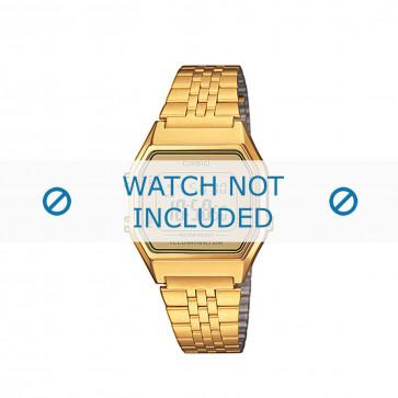 Klockarmband Casio LA680WEGA-9ER / 10454028 Stål Guldpläterad 14mm