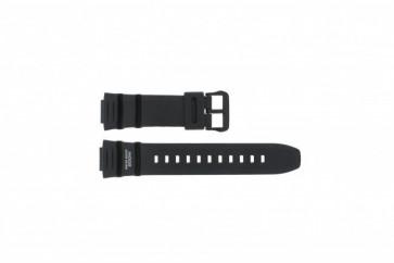 Casio klockarmband WV-200E-1AV EF / WV-200A-1AV / WV-200U-1AV / AE-2000W-1AV - AE-2100W-1AV -  Gummi Svart 16mm